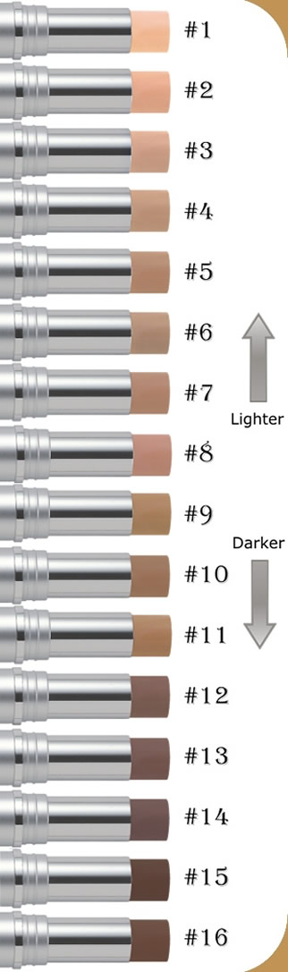 Men Pen color chart